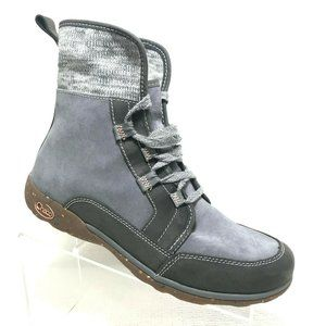 Chaco Womens Barbary Ankle Chukka Lace Up Boots